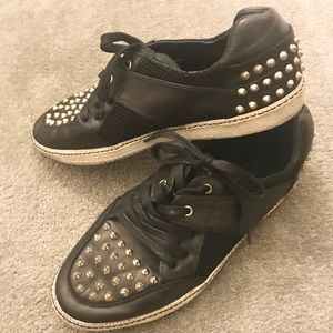 Sandro Shoes - Sandro Studded Sneakers